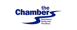 logo for the chambers on a white background